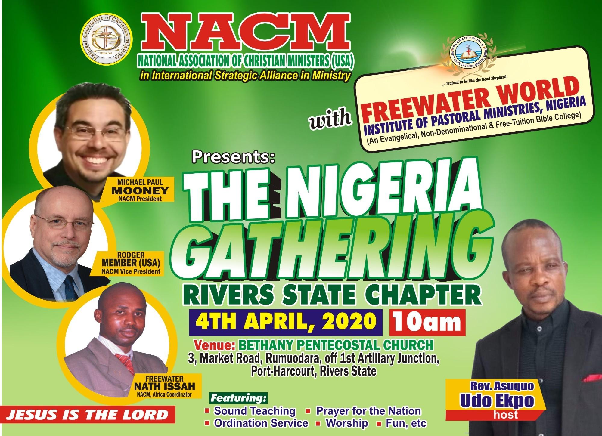 2 - NACM NIGERIA 2nd PORT HARCOURT Gathering APRIL 4th
